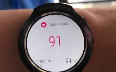 La montre Android Wear de HTC se dévoile
