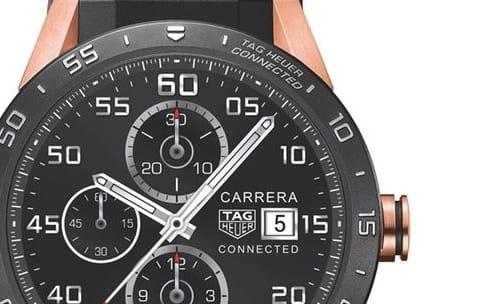 Android Wear : Tag Heuer lance une édition or rose de la Connected