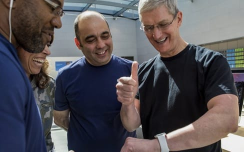 Tim Cook : « L'Apple Watch va réaliser son meilleur trimestre »