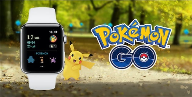 Pokémon GO est désormais compatible Apple Watch