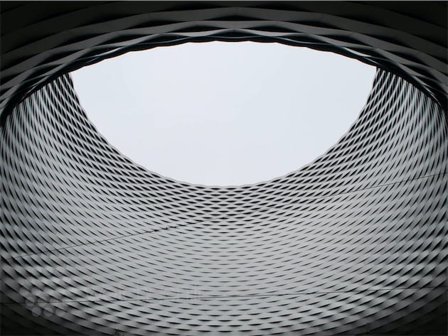 Le fameux bâtiment de la Messe Basel, qui accueille Baselworld.