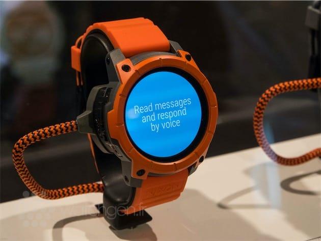 Connu Baselworld 2016 : Nixon présente une montre Android Wear robuste  QX75