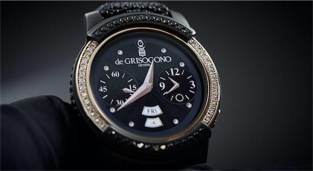 La «Samsung Gear S2 by De Grisogono ». Image De Grisogono.