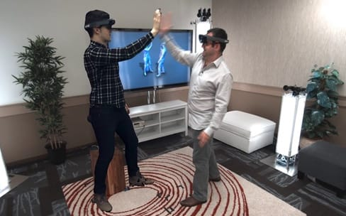 Avec Holoportation, Microsoft téléporte des hologrammes