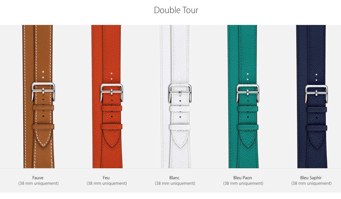 ... order montre hermes femme bracelet double tour 40d05 ad075 52c673c1a6f