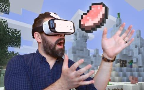 Minecraft et Gear 360 : Samsung à fond dans la VR