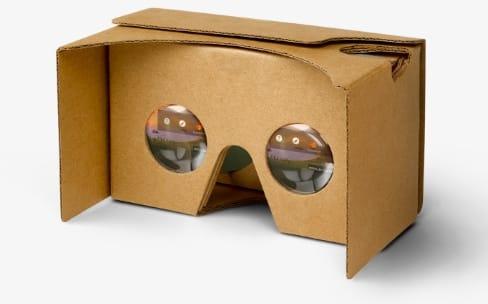 Google vend son Cardboard en France