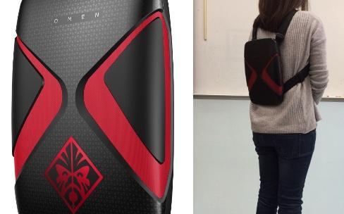 Et voici le sac à dos VR !