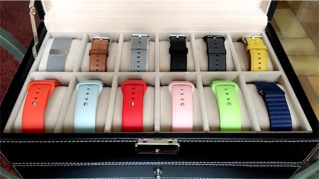 un coffret pas cher pour ranger ses bracelets d 39 apple watch watchgeneration. Black Bedroom Furniture Sets. Home Design Ideas