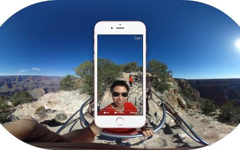Facebook favorise la création de contenus à 360°