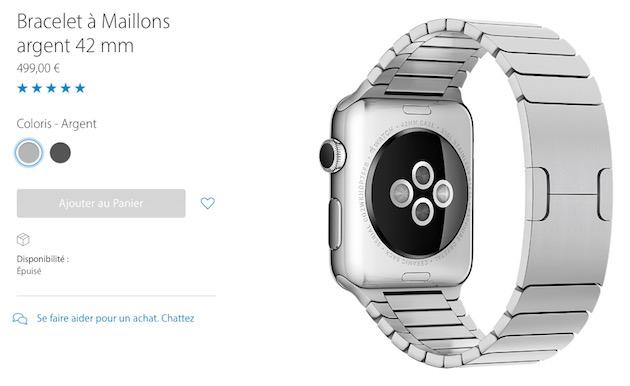325b80ed982 Apple fait le ménage dans ses stocks d Apple Watch et de bracelets ...