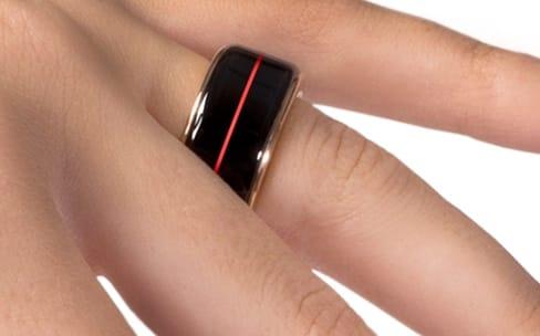 Un anneau près du cœur
