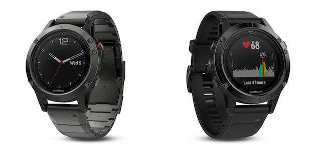 Garmin Fēnix 5, trois tailles de montres pour le sport