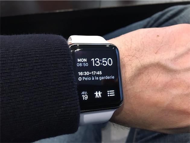 cadran iwatch