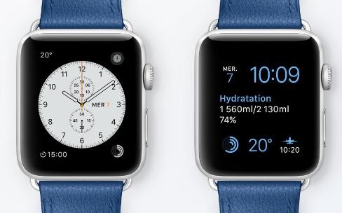 Apple Watch : composez vos cadrans en fonction de vos activités