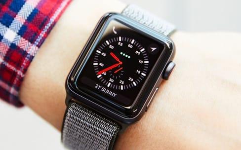 La connexion cellulaire de l'Apple Watch Series 3 suspendue en Chine