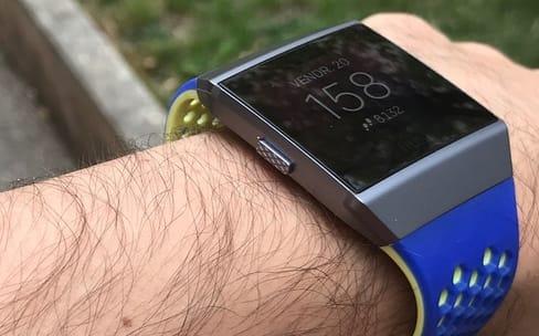 Premier aperçu de la Ionic, la montre connectée de Fitbit