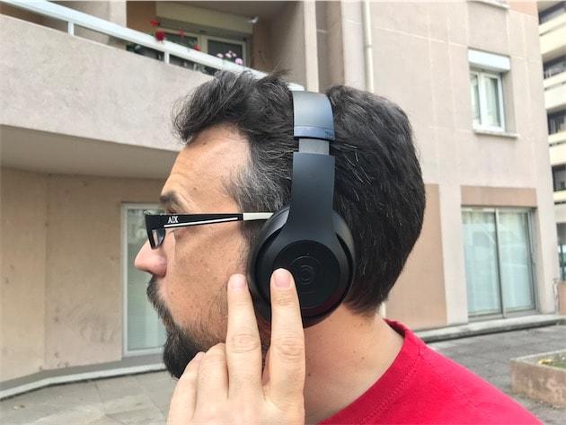 beats casque studio 3 sans fil test