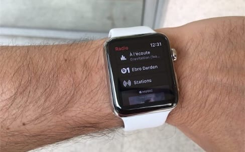 La batterie de l'Apple Watch Series 3 en prend un coup avec Apple Music