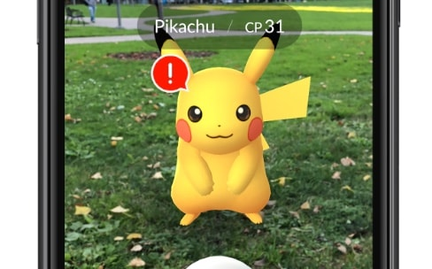 Pokémon Go s'enrichit avec ARKit