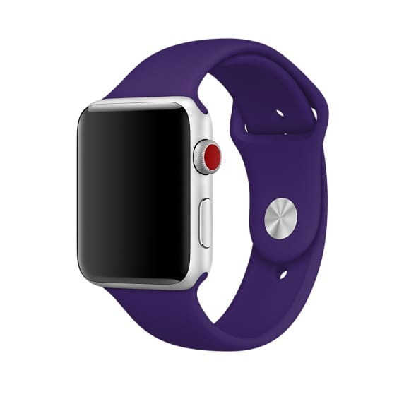 Bracelet Sport ultraviolet. Image Apple.