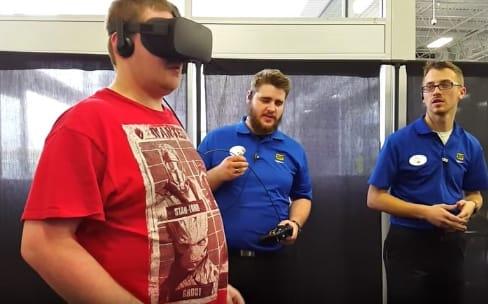 Oculus réduit les espaces de démonstration chez Best Buy