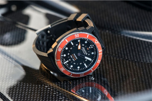 Seastrong Horological Smartwatch. Image Alpina.