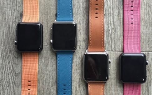 Vous possédez rarement plus de deux bracelets AppleWatch