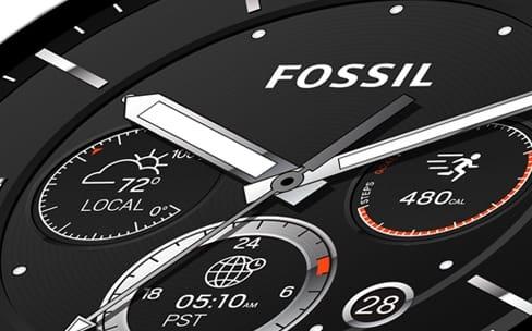 Les montres connectées grignotent les marges de Fossil