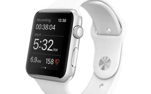 Strava prend en charge le GPS de l'Apple Watch Series 2