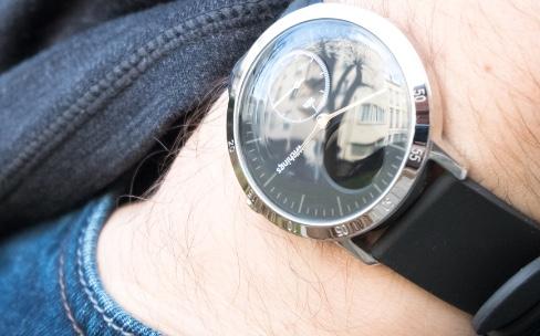 Test de la Withings Steel HR : une montre connectée à aiguilles et à écran