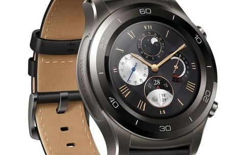 Watch 2 : deux grosses montres sous Android Wear 2.0 pour Huawei