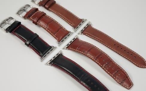Aperçu des bracelets en cuir made in France by Band-Band