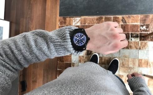 Montblanc présente une montre Android Wear bien quelconque