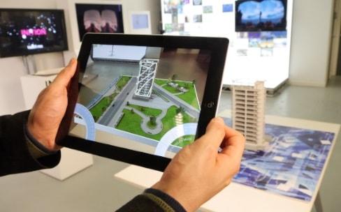 Des centaines de personnes sur la réalité augmentée chez Apple