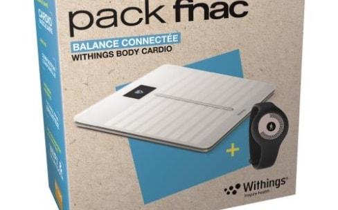 Promos: balance connectée et traqueur d'activité Withings dans un pack à 100€