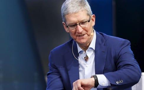 Tim Cook ferait le cobaye pour le capteur de glycémie de l'Apple Watch