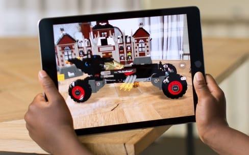 Prise en main : la réalité augmentée d'Apple n'est plus virtuelle
