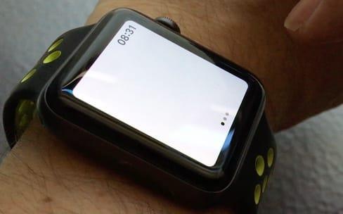 Avec watchOS 4, l'Apple Watch est une lampe torche