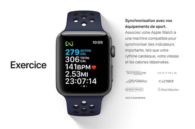 Les Principaux Constructeurs De Ces Appareils Torture Ont Signe Avec Apple Comme Matrix Life Fitness Star Trac Cybex StairMaster Schwinn