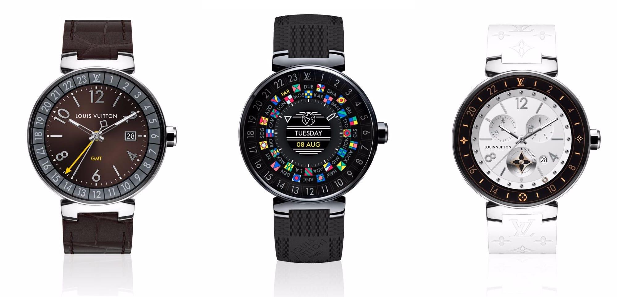 la tambour horizon de louis vuitton est une montre connect e fort on reuse watchgeneration. Black Bedroom Furniture Sets. Home Design Ideas