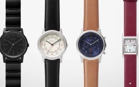 Sony : nouvelles montres Wena avec des fonctions connectées