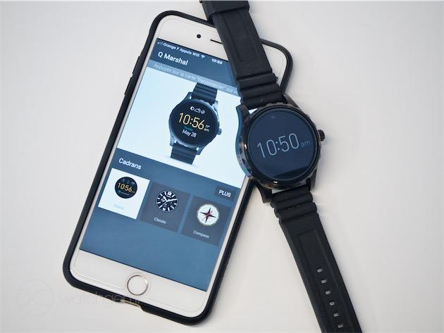 Une montre Android Wear avec un iPhone ? Oui, mais\u2026