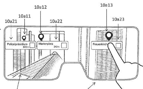 Apple : un brevet pour toucher des éléments virtuels dans des lunettes AR