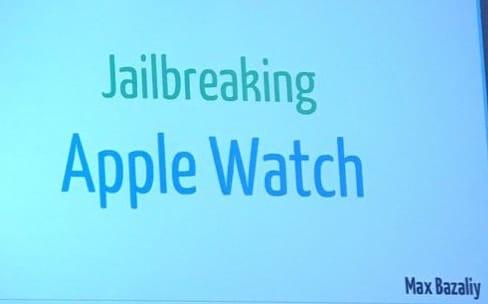 Première démonstration publique d'un jailbreak de l'Apple Watch