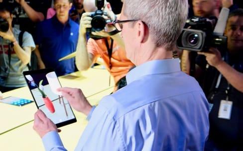 La réalité augmentée n'est pas virtuelle pour Tim Cook