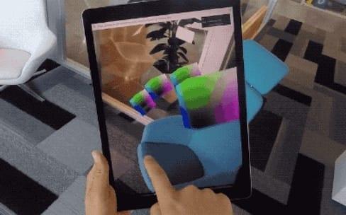 Google : des navigateurs web expérimentaux pour la réalité augmentée sur iOS et Android
