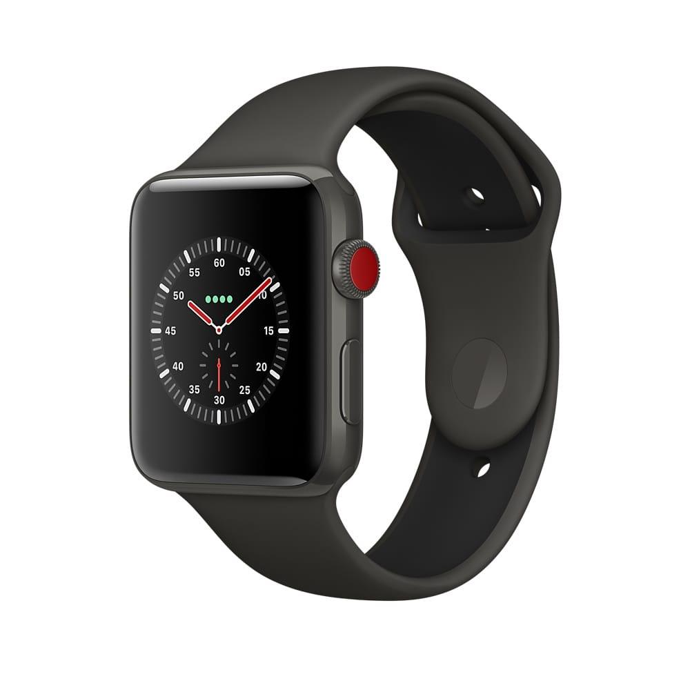 apple watch series 3 gps cellular les prix en euros. Black Bedroom Furniture Sets. Home Design Ideas