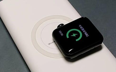 L'Apple Watch Series 3 est compatible avec certains pads de recharge Qi
