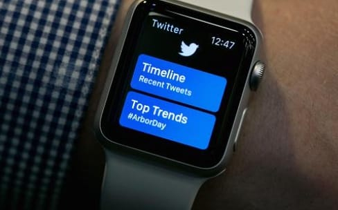 L'application Twitter disparait de l'Apple Watch